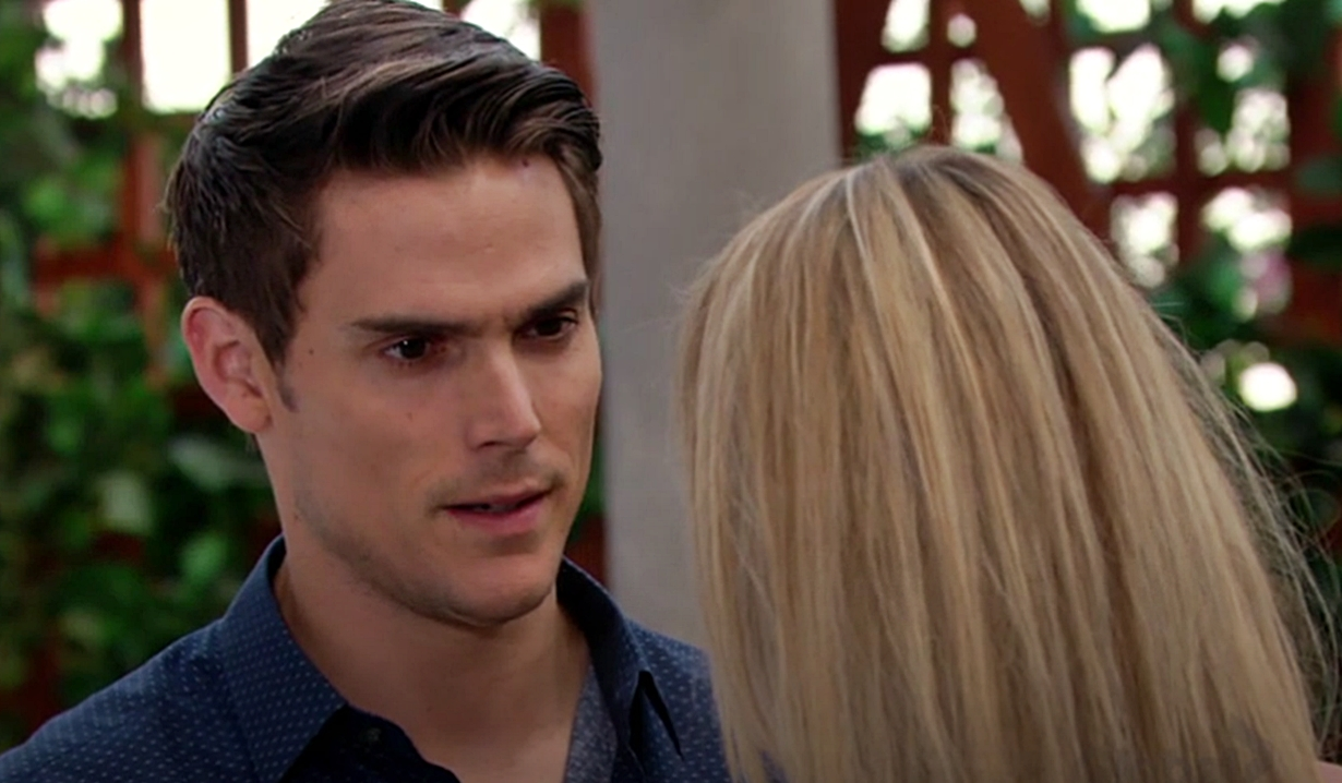 Adam proposes to Sharon Young and Restless
