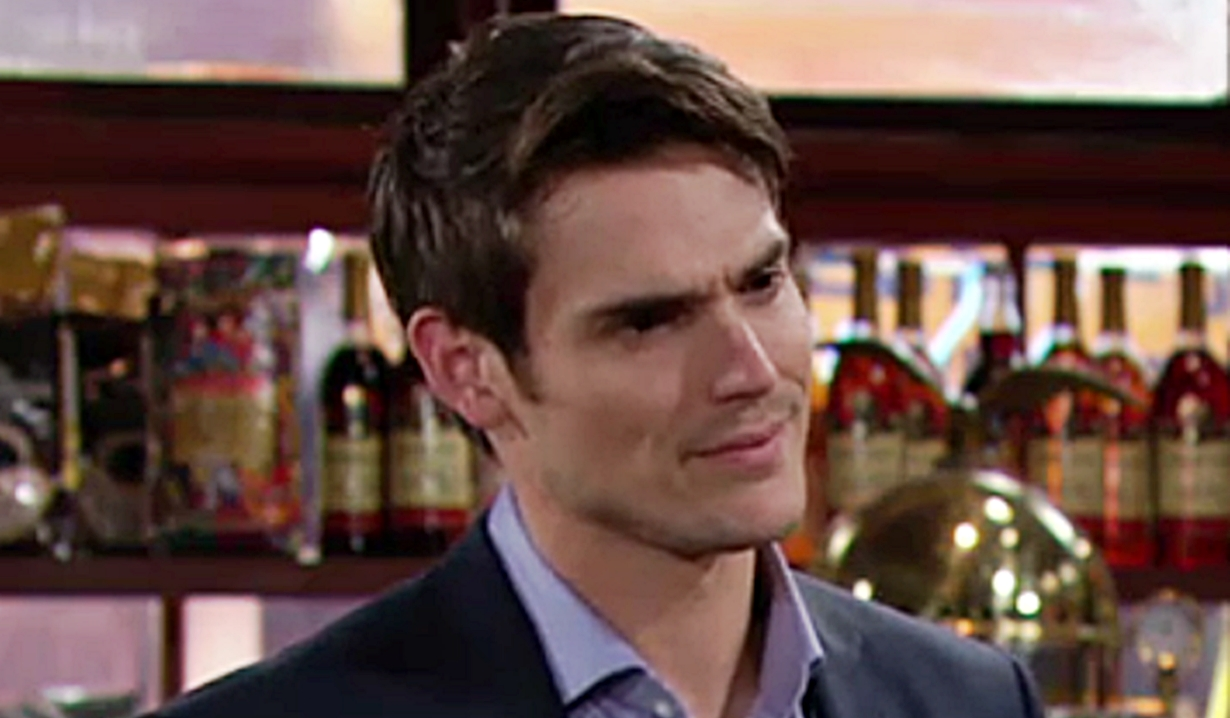 Adam threat Young and Restless