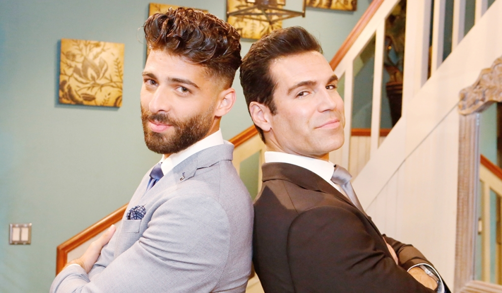 Arturo and Rey wedding Young and Restless