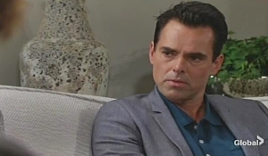 Billy talks to therapist Young and Restless