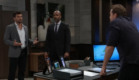Chase and Curtis question Drew General Hospital