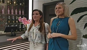 Abby unveils Grand Phoenix to Chelsea Young and Restless