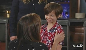 Chelsea and Connor Young and Restless