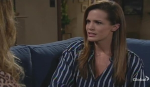 Chelsea grills Anita Young and Restless