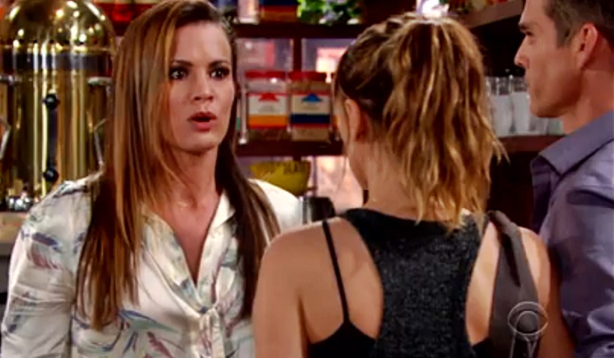 Chelsea horrified at seeing Chloe and Kevin Young and Restless