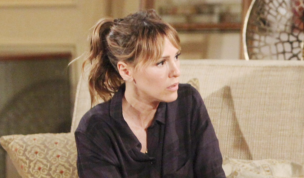 Chloe realizes Billy's plans Young and Restless