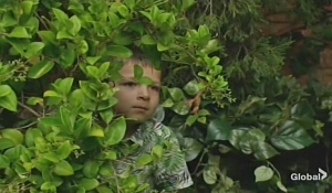 Christian in a bush Young and Restless