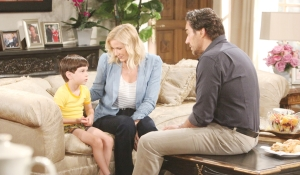 Douglas with Brooke and Ridge Bold and Beautiful