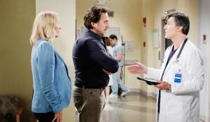 Dr. Jordan Armstron updates Ridge and Brooke Bold and Beautiful