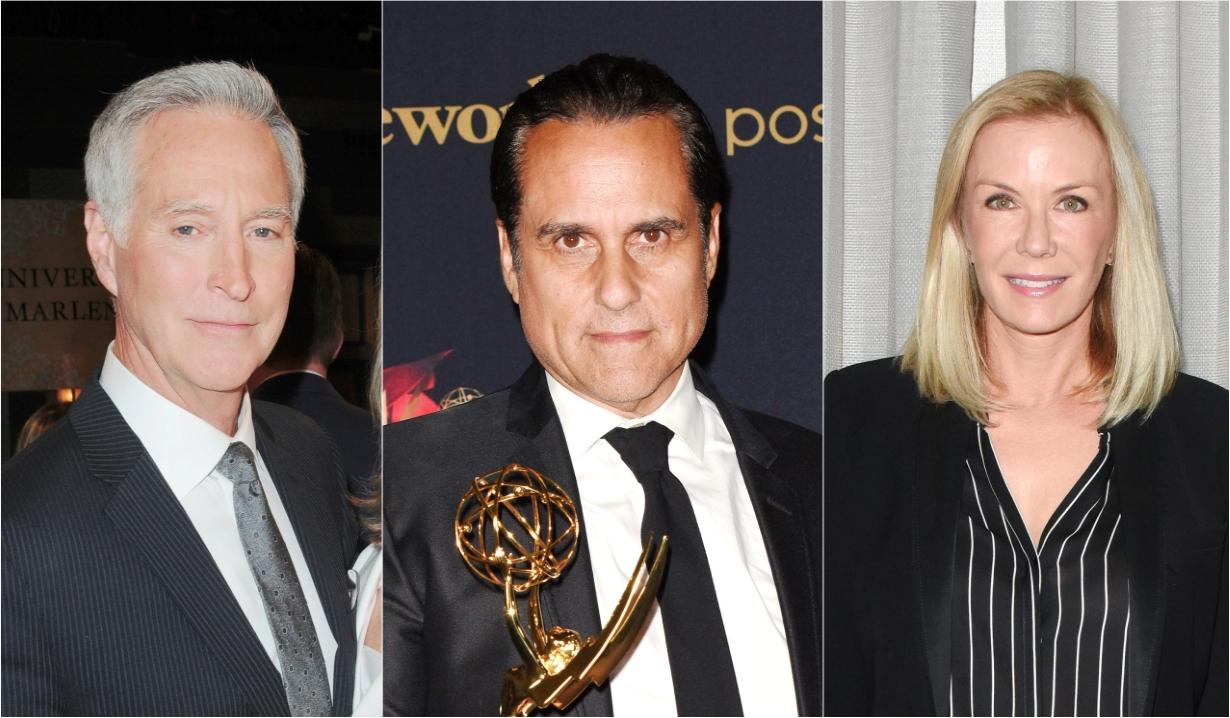 Drake hogestyn maurice benard katherine kelly lang soaps news days of our lives general hospital the young and the restless the bold and beautiful