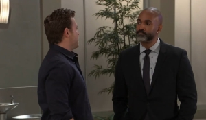 Drew and Curtis talk Shiloh General Hospital