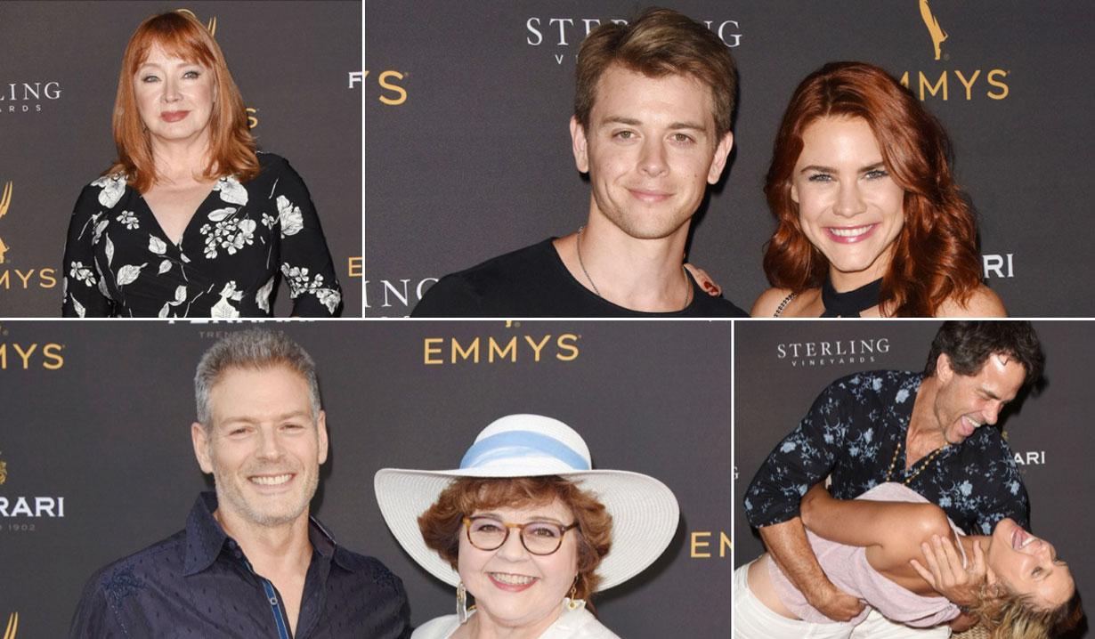 Soap Stars Celebrate The Emmy Awards