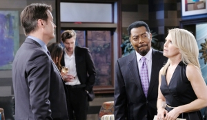 Jack talks with Abe and Jennifer Days of our Lives