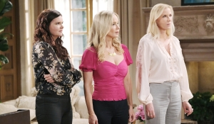 Katie, Donna and Brooke look at Shauna Bold and Beautiful