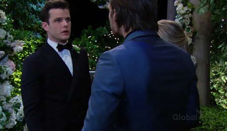 Kyle confronts Theo and Zoe Young and Restless