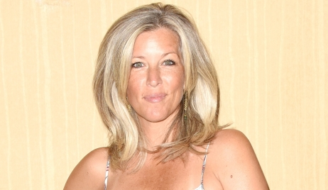 Laura Wright breaks foot General Hospital