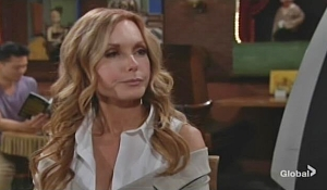 Lauren questions Michael Young and Restless