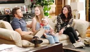 Liam, Hope, Beth e Katie Bold and Beautiful