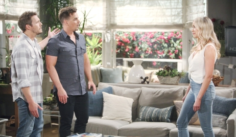 Liam and Wyatt confront Flo on Bold and Beautiful