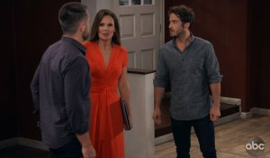 Julian, Lucas and Lucy tour the house General Hospital