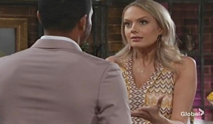 Abby rants to Nate Young and Restless