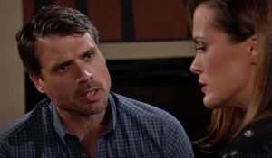 Nick questions Chelsea about running Young and Restless