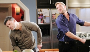 Rex punches Eric Days of our Lives