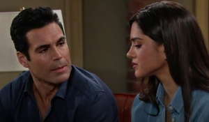 Rey and Lola read letter Young and Restless
