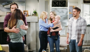 Ridge consoles Steffy, Liam miserable, Brooke stands with Hope, Beth Bold and Beautiful