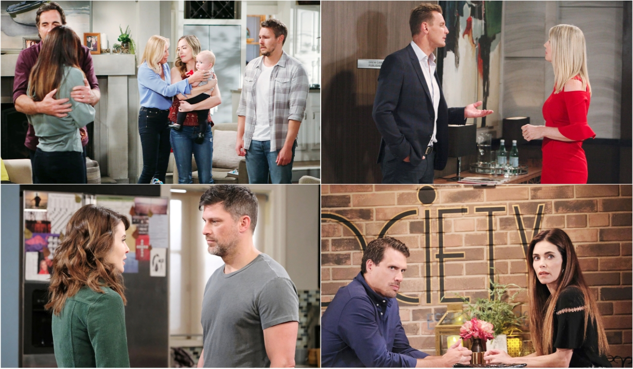 8-12-19 spoilers for bold and beautiful days of our lives general hospital young and restless