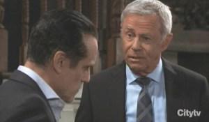 Robert updates Sonny on Dante General Hospital