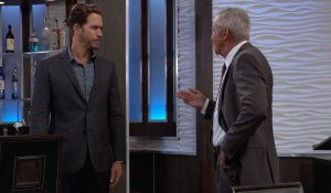 Robert argues with Peter on General Hospital