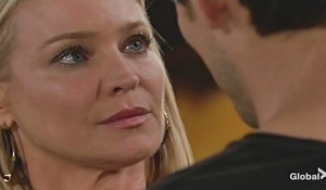Adam wants to make Sharon happy Young and Restless