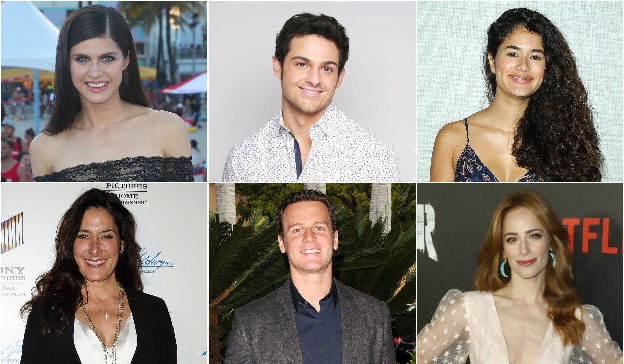 Alum sightings: New projects, 1st soap roles