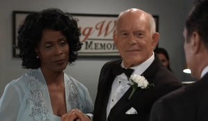 Sonny attends Mike's wedding General Hospital