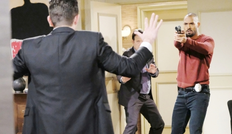 Stefan arrested by Eli and Jack Days of our Lives
