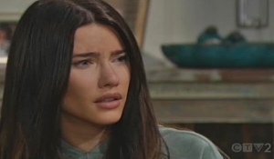 Steffy reels at the truth Bold and Beautiful