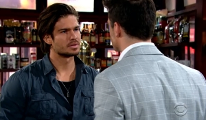 Kyle warns Theo Young and Restless