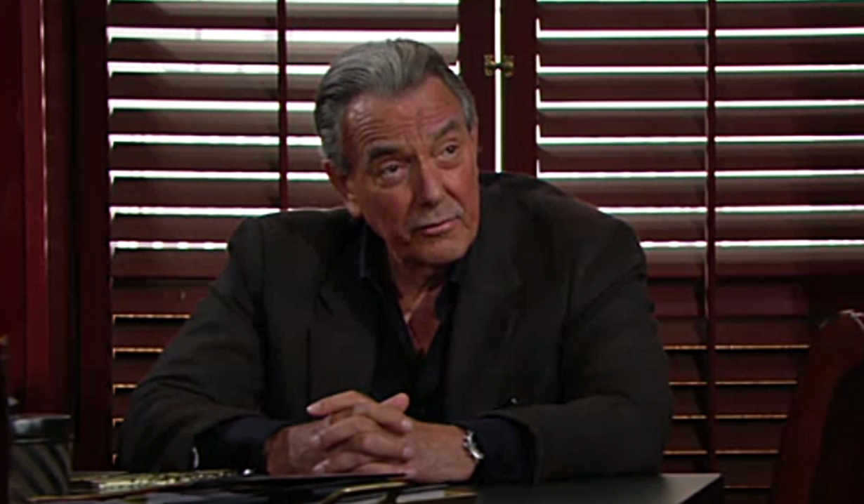Victor at Newman Enterprises Young and Restless