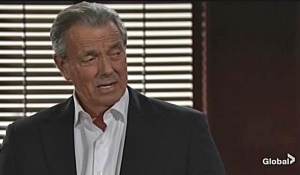 Victor watches Adam leave Young and Restless