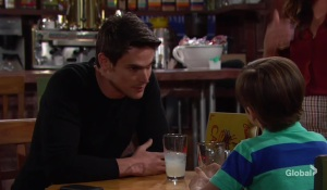 Adam spends time with Connor The Young and the Restless