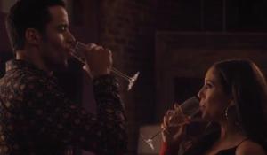 Bella and Ignacio toast on Ambitions