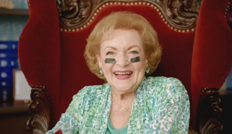 Betty White NFL promo Bold and Beautiful