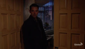 Billy breaks into Adam's The Young and the Restless