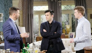 brady hears Will and Sonny's news days of our lives