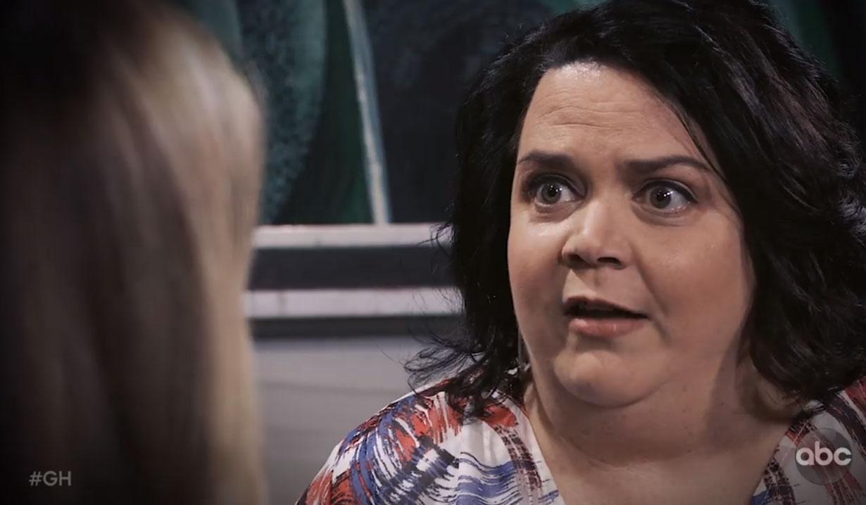 Chelsea warns laura's son is in danger on general hospital