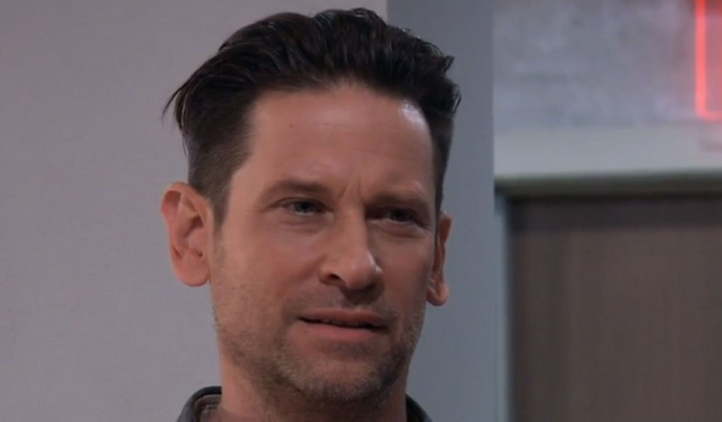 franco and kim talk at gh on general hospital