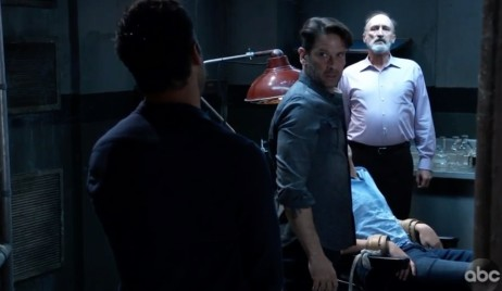Franco finds Cam with Shiloh and Dr. Cabot on General Hospital