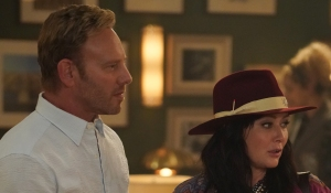 Ian welcomes Shannen back on BH90210