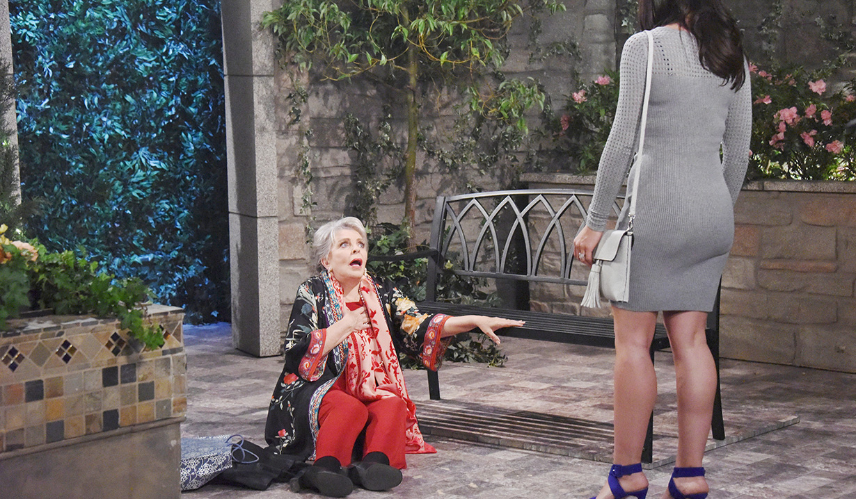 gabi leaves julie dying days of our lives